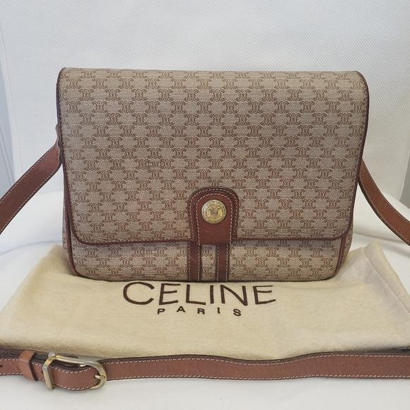Celine Handbags - 1980s Vintage Celine Box Classic Bag